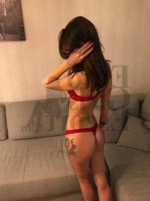 Blondine escort girl